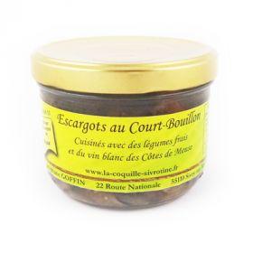 Escargots de Meuse au court bouillon