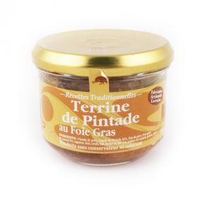 Terrine de pintade au foie gras