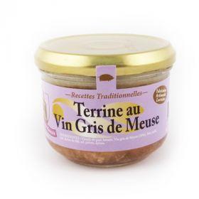 Terrine au vin gris de Meuse