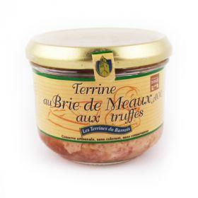 Terrine de porc au Brie de Meaux et aux truffes